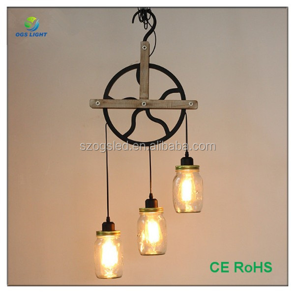 Top sale creative glass bottle lampshade pendant light with 3 light top sale creative glass bottle lampshade pendant light with 3 light source aloadofball Gallery