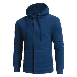 Made in china zip up fleece clothing men wholesale velour hoodie