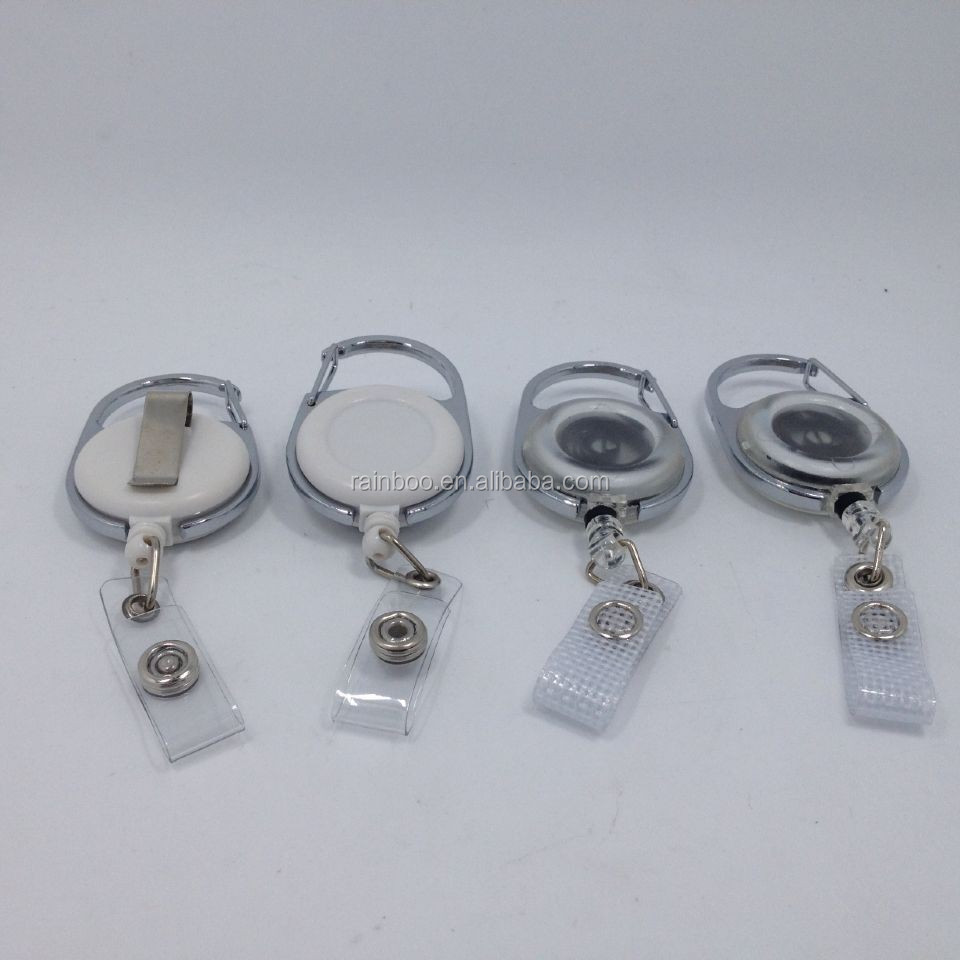 Cheap Eco-friendly Retractable Name Badge Holder With Clip - Buy Name Badge  Holder,Clear Plastic Name Badge Holders,Name Badges Pin Clip Holder