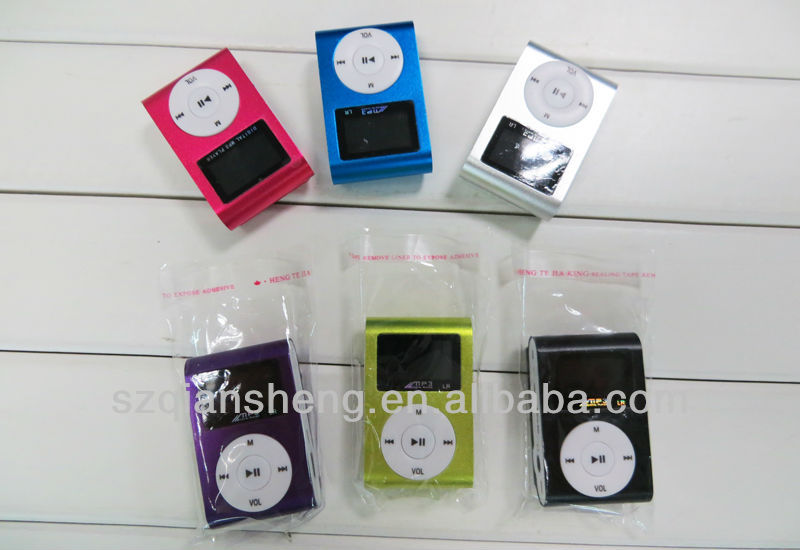 Digital LCD MP3 Music Player with Mini Clip MP3 Player