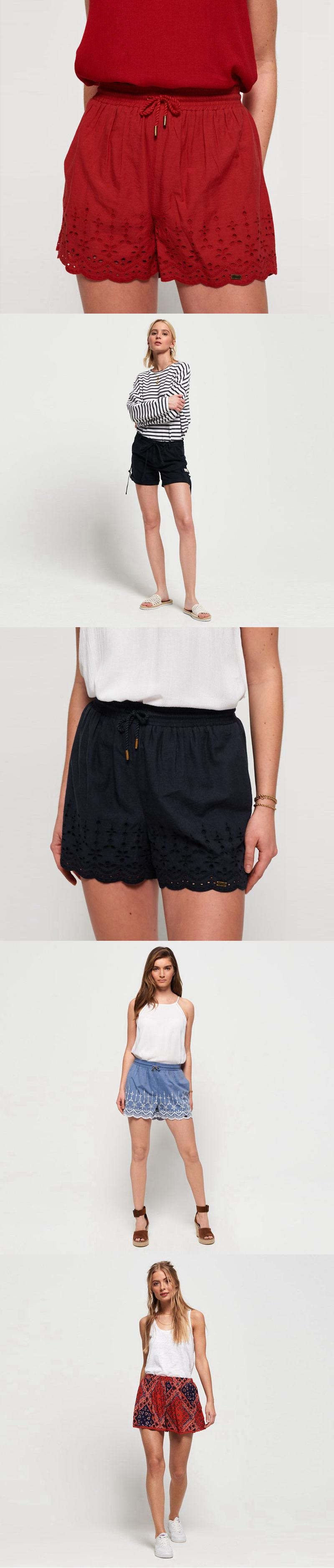 Girl clothing gay short shorts flower