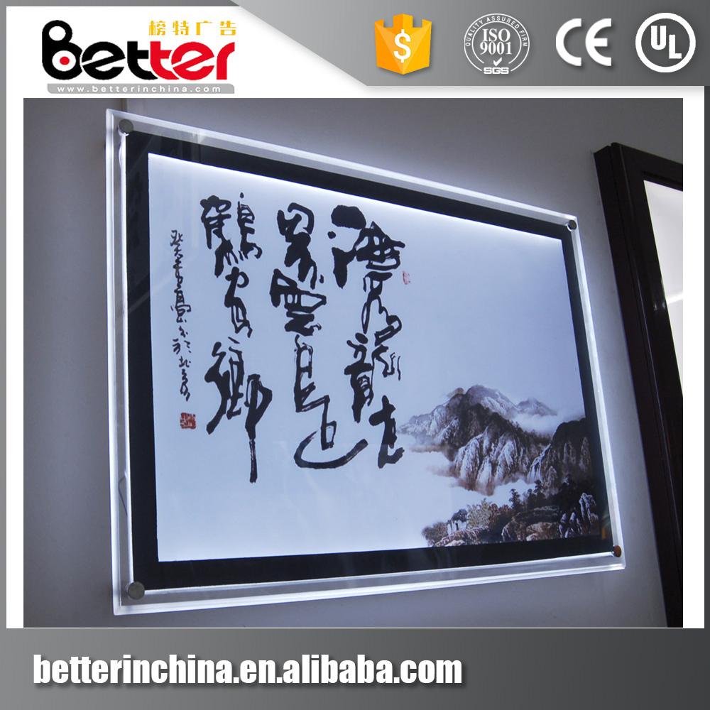 Finden Sie Hohe Qualität Led-panel-bilderrahmen Hersteller und Led ...