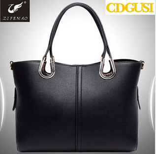 f937225cbf8 Guangzhou leather factory lady custom handbag genuine leather women ...