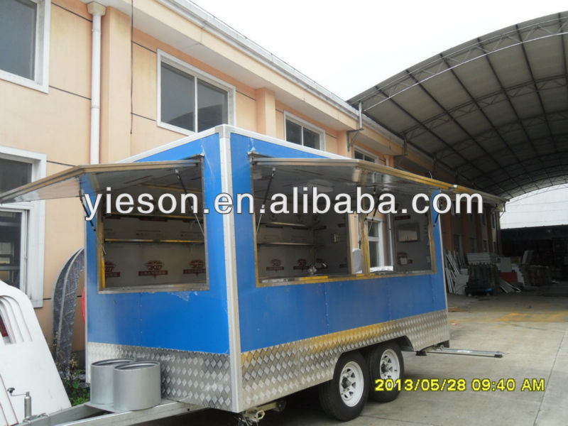 Hot Sale Yieson Factory Direct Mobile Kitchen Truck Mobile Food Van Australiamobile Kitchen Truck Food Vanfood Van Trailer Buy Food Vanfood