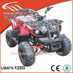 kids gas 4 wheeler four stroke quad atv 125ccwith EPA/CE LMATV-125G