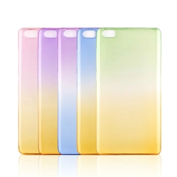 New products gradient color changing soft tpu armor wholesale custom back cover case protector for xiaomi redmi note