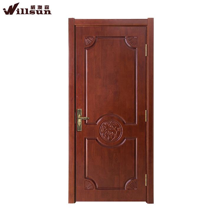 Conception simple standard porte de la chambre moderne for Les portes en bois des chambres