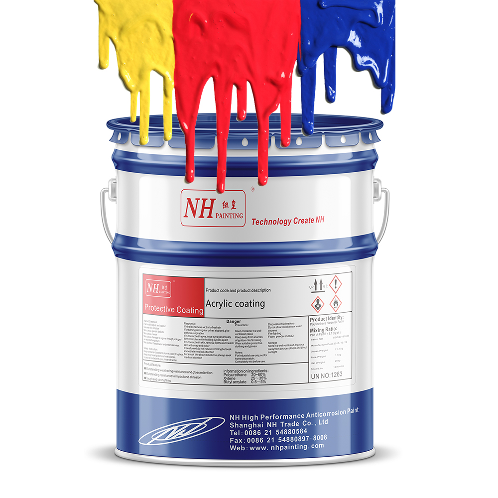 Uitstekende anti-corrosieve prestaties epoxy primer coating