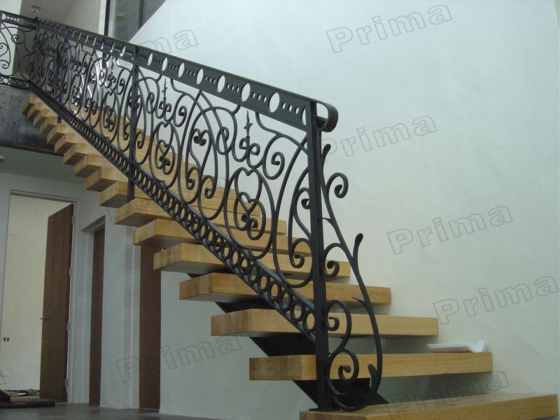 Stainless Steel Staircase Handrail Design Plastic Wood