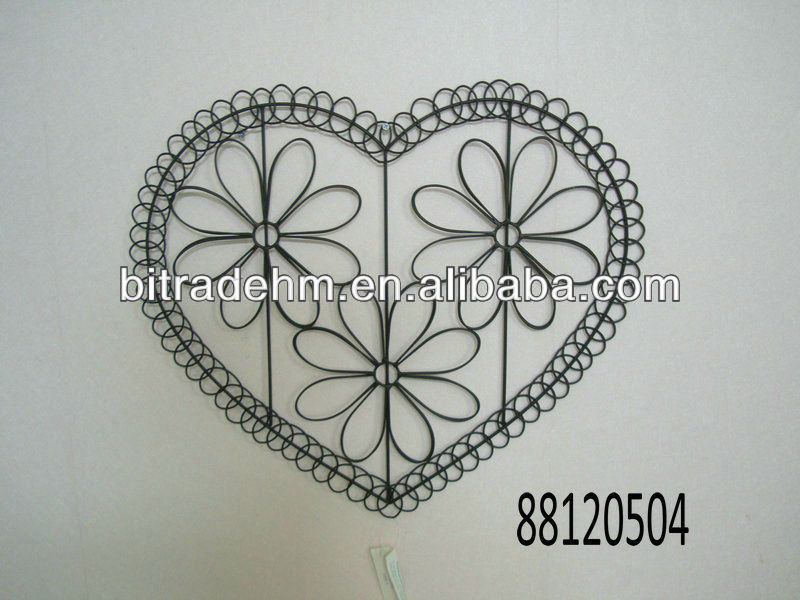 Metal Heart Wall Decor - Buy Wall Art,Metal Wall Art Decor ...
