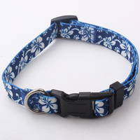 2016 Factory price hot sale high quality beautiful flower dog collar,pet products