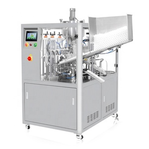 super glue tube filling machine auto glue tube filling and sealing machine