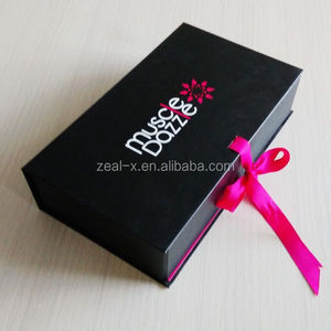 Rich experience box manufacturer how to make a paper gift box with ribbon