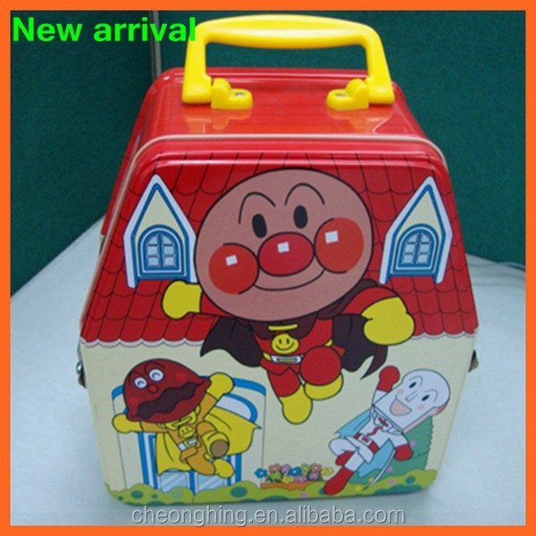 Metal Lunch Tin Part - 39: Factory Direct Sale Metal Lunch Tin Box Custom Printed Wholesale Cheap Tin  Box