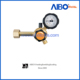 Single gauge propane gas regulator