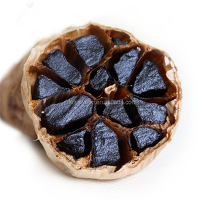 Halal certified improve immunity & anticancer organic single bulb black garlic finished product