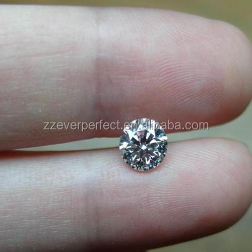 polished diamond with white rough diamonds to be used the jewelry
