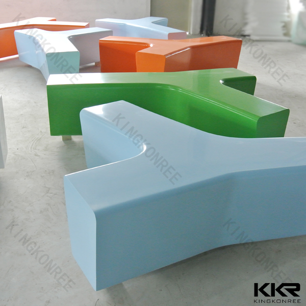 colorful stone modern center dressing table stools