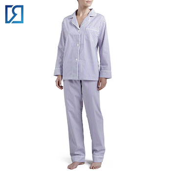 Cheap Comfortable Strips Pajamas Cotton Hospital Women Pyjamas ... c58dc3e23