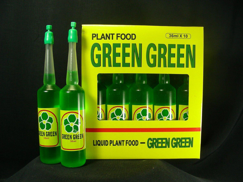ChingWenArts Green Green Plant Food Lucky Bamboo Fertilizer 12 Bottles, F9956