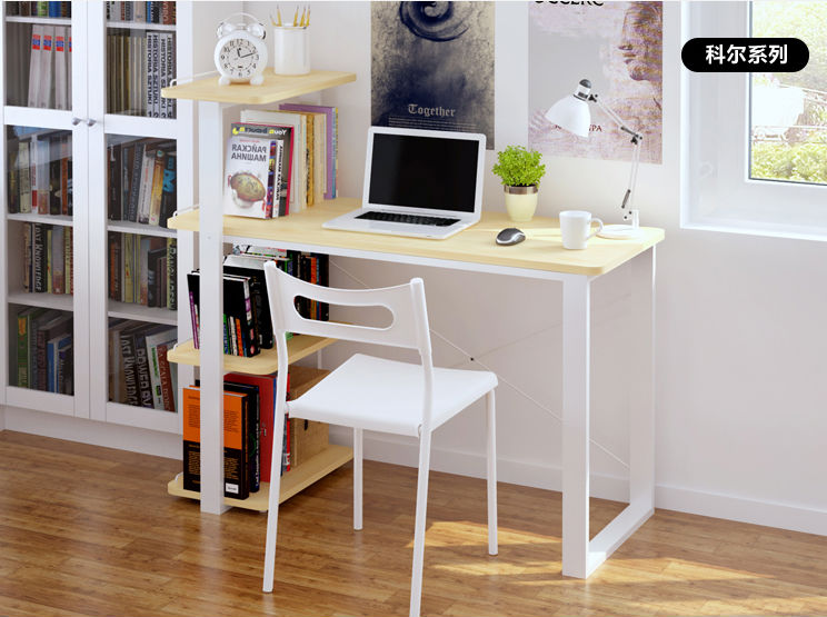 Latest Design Adjustable Laptop Table Wooden Table Design Long Study Desk  Computer Table Part 51