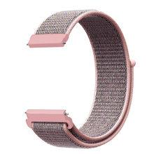 Спортивная нейлоновая петля ремешок Браслет для Fitbit Versa 2/Lite мягкая тканая группа часов Замена мужской t Браслет для Fitbit Versa для мужчин и женщ...(Китай)