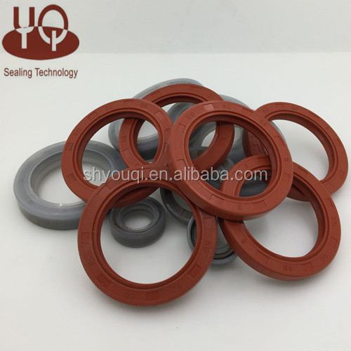 NBR/FKM/SILICONE/PTFE rubber rotary oil seals with different sizes