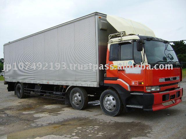 Nissan Diesel Truck >> Used Japanese Trucks Used Ud Nissan Diesel Big Thumb Cargo Truck 12500cc 1 017 159km Buy Cargo Truck Product On Alibaba Com