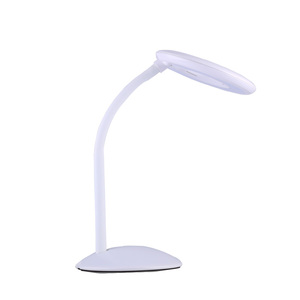 Modern LED Kids Lamp Metal Touch Sensor Switch Table Lamps Flexible Desk Lamps Lighthouse Night Light Bedside Lighting
