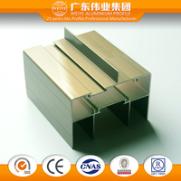 Myanmar aluminium profile extrusion for building construction material cnc in guangzhou