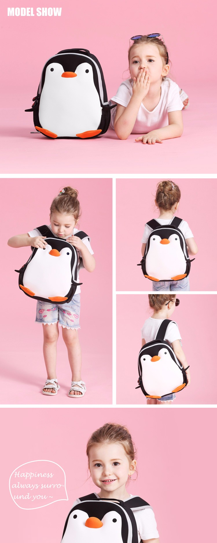 Wholesale kids waterproof backpack cartoon character school bags for  toddlers 1ef3d13b924a3