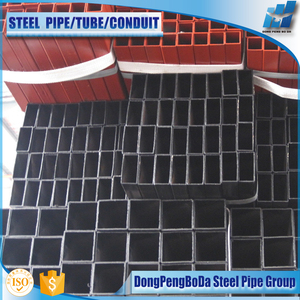rectangular and square box section metric steel pipe sizes