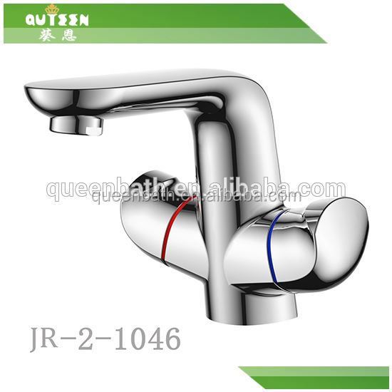 Embedded wall mouted bath shower faucet