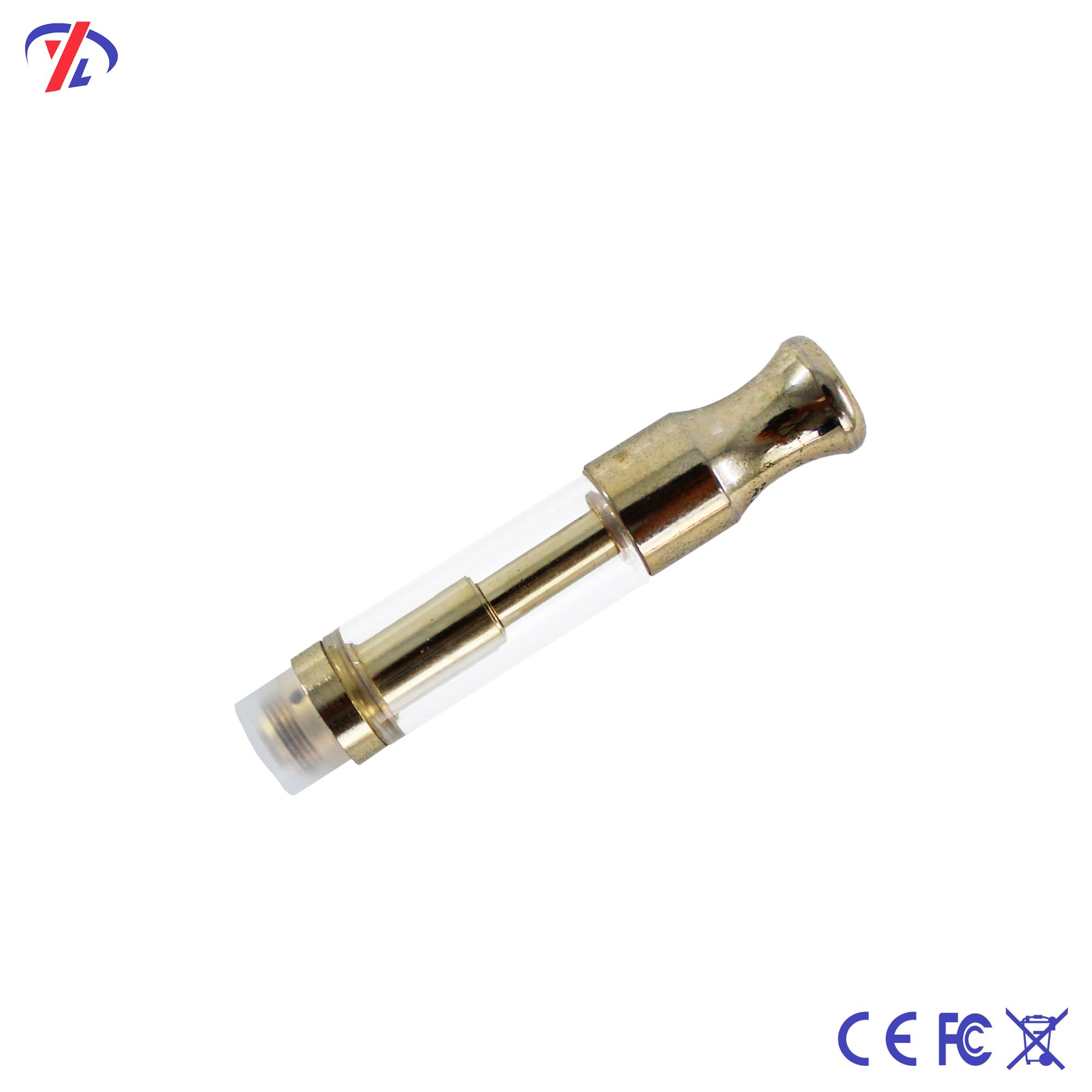 Anti leakage newest product CBD oil ceramic coil glass cartridge