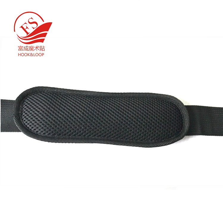 soft and comfortable nylon webbing and pad replacement shoulder strap with hooks