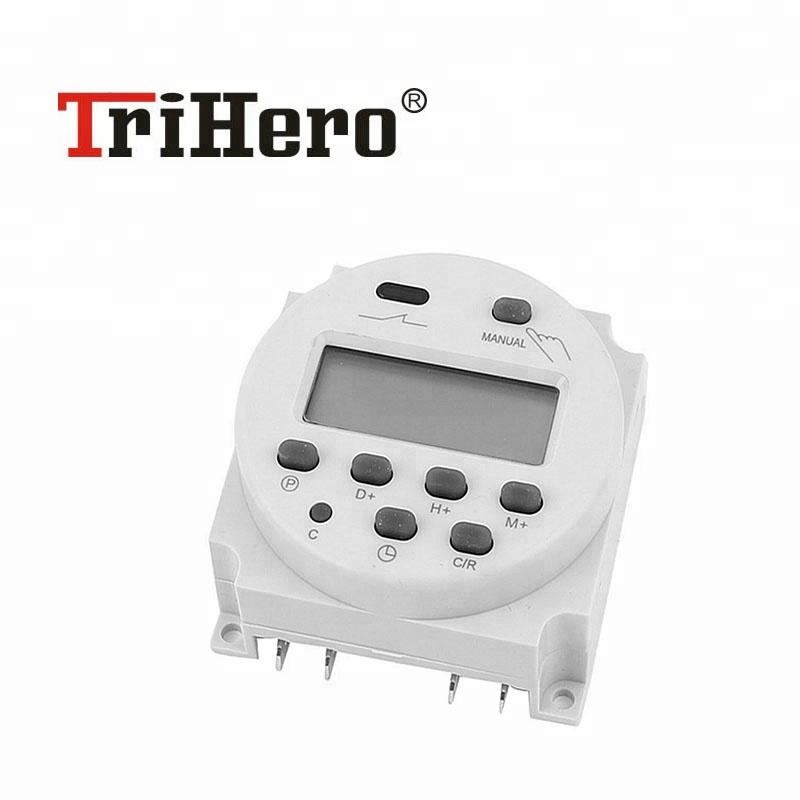 Computer & Office Kg316t-ii Mini Programmable Din Rail Digital Lcd Timer Switch Electronic Home Security Control Switch Automatic Timer Switch Good Reputation Over The World