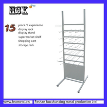 metal pegboard mobile phone and shell and chargers display stand rack HSX-Z-501