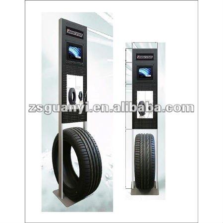 Metal Material Tire Display Stand Buy Metal Material Tire Display Gorgeous Tire Display Stands