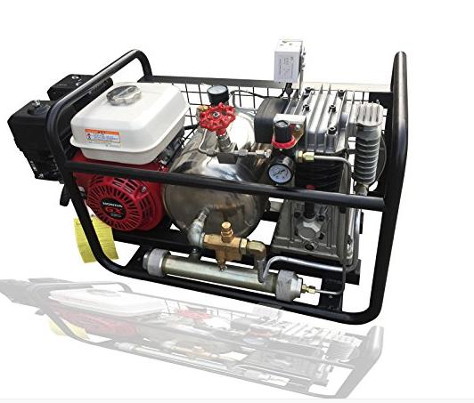 300bar 4500psi yüksek basınçlı tüplü dalış hava kompresörü satılık