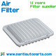 factory supply Cars air filters for toyota 17801-14010
