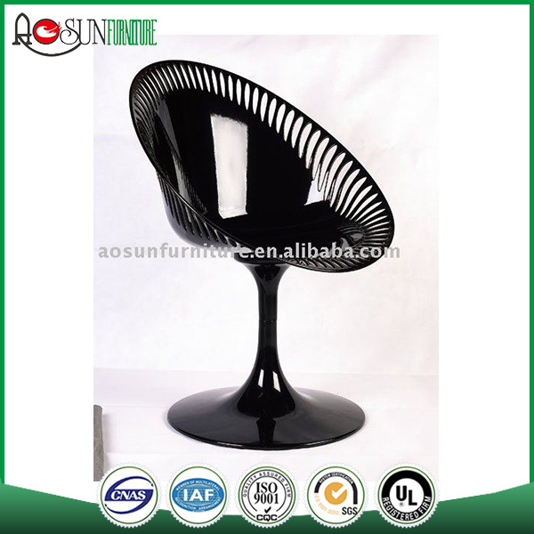 Made in china ISO 9001 certified Plastic gold bar stool