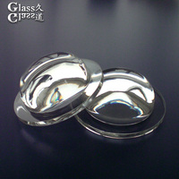 Best Quality Polishing Lens Transparent Led Glass Lens For High Bay Light