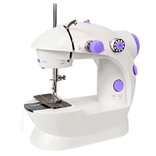 zogift 2018 Cheap price manual overlock tailor portable home use table portable mini sewing machine