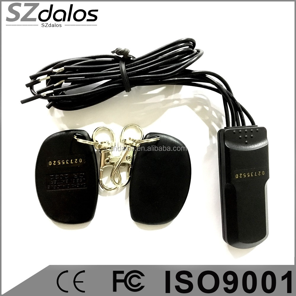 universal 12V immobilizer Transponder Bypass immobilizer with anti-hijack 2.4G RFID car immobilizer hot in chile