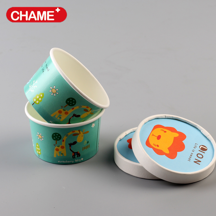 disposable paper cups ice cream ,decorative ice cream cups
