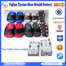 two colors eva casual clogs shoes mold, eva shoes mould, hot selling new stylish Eva casual shoes die for men