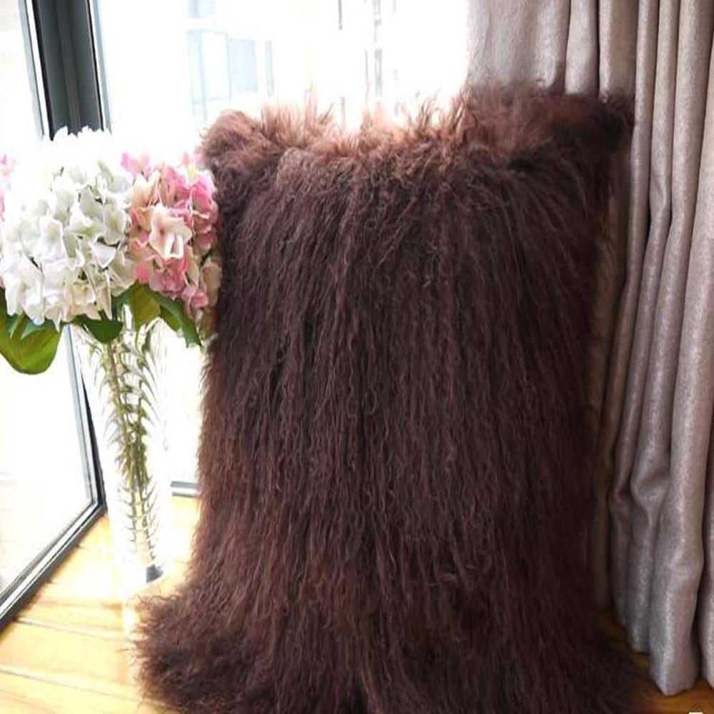 achetez en gros mongol de fourrure oreiller en ligne des grossistes mongol de fourrure. Black Bedroom Furniture Sets. Home Design Ideas