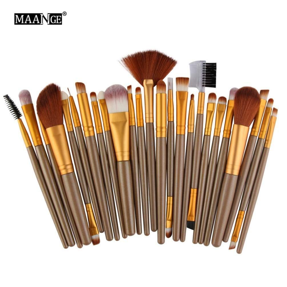 Makeup Brushes Set,BCDshop 25 pcs Makeup Brush Tools Make-up Toiletry Kit Beauty Brush Set
