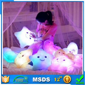 LED Bercahaya Malam Cahaya Cinta Hati Bantal Mewah Boneka Bantal LED Mainan  Mewah Valentine Hadiah Penjualan 3dbb893072