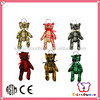 ICTI SEDEX factory top 1 Gifts the best choice promotion plush bear keychain toy